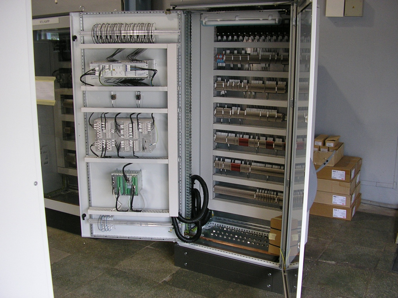 Manufacture of switchboard products Marine and Industrial Group